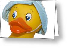 Rubber Ducky Closeup Greeting Card