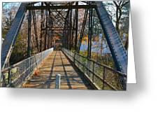 Rube Nelson Bridge 1 Greeting Card