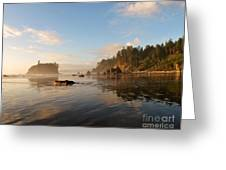 Ruby Beach At Low Tide Greeting Card