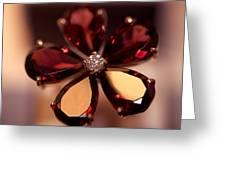 Ruby Ring. Spirit Of Treasure Greeting Card