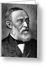 Rudolf Virchow, German Pathologist Greeting Card