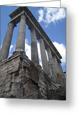 Ruined Columns Greeting Card
