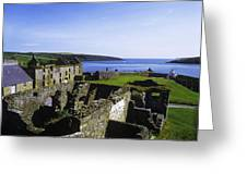 Ruins Of A Fort, Charles Fort, County Greeting Card