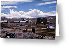 Ruins Of Bodie Greeting Card