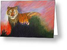 Ruler Of The Sunderban Greeting Card