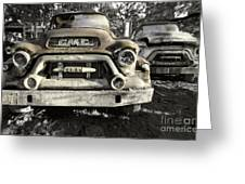 Run Gmc Greeting Card