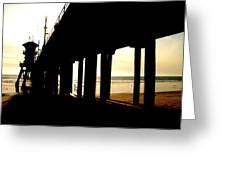 Runaway Pier Greeting Card