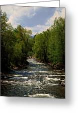 Running Waters Greeting Card