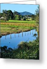Rural Landscape After Rain Greeting Card