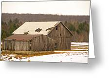 Rural Ontario Farm Greeting Card