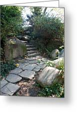 Rural Steps Greeting Card