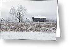Rural Winter Greeting Card