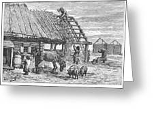Russia: Famine, 1892 Greeting Card