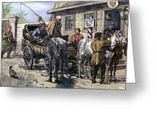 Russia: Siberia, 1882 Greeting Card