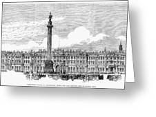 Russia: St. Petersburg, 1881 Greeting Card