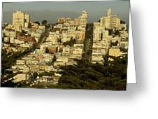 Russian Hill Greeting Card
