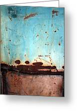 Rust And Paint 1 Greeting Card