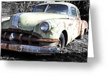 Rust Never Sleeps Greeting Card
