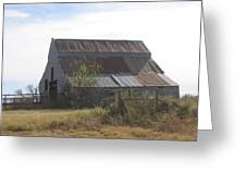 Rusted Barn Greeting Card