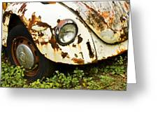 Rusted Volkswagen Greeting Card