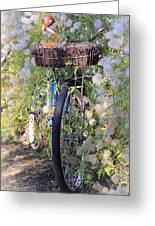 Rustic Bicycle Greeting Card