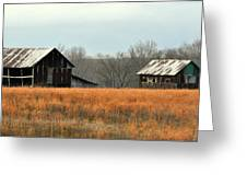 Rustic Illinois Greeting Card