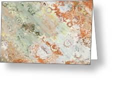 Rustic Impression Greeting Card