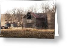 Rustic Old Barn Greeting Card