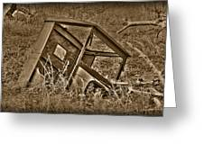 Rusting Away Greeting Card