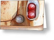 Rusty Abandoned Old Car Greeting Card