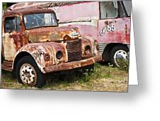Rusty Commer  Greeting Card by David Lade