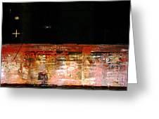 Rusty Layers Greeting Card