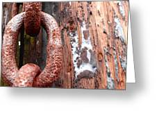 Rusty Link I Greeting Card