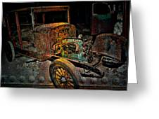Rusty Travels Greeting Card