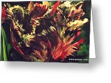 Rusty Tulip Greeting Card