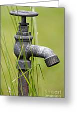 Rusty Water Supply Point Greeting Card