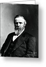 Rutherford B. Hayes, 19th American Greeting Card by Photo Researchers