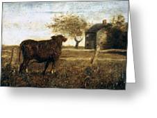 Ryder: The Pasture, C1875 Greeting Card
