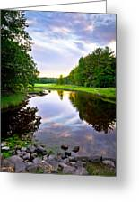 Rye Reflections Greeting Card