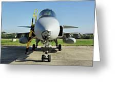 Saab Jas39d Gripen Greeting Card