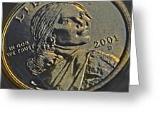 Sacagawea 2001 Greeting Card