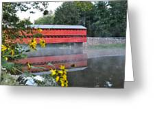 Sachs Covered Bridge At Gettysburg Greeting Card