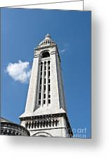Sacre Coeur Bell Tower I Greeting Card