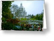 Sacre Coeur Paris - France Greeting Card