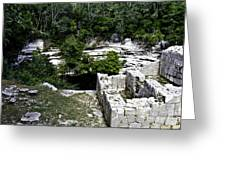 Sacred Cenote Greeting Card