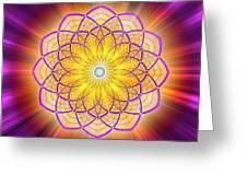 Sacred Geometry 110 Greeting Card