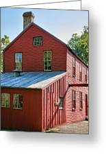 Saddle Factory Museum IIi Greeting Card