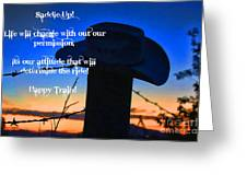 Saddle Up Greeting Card