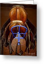Saddles Greeting Card