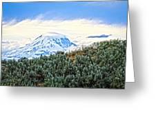 Sage Mountain Greeting Card